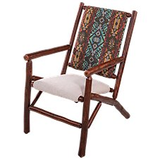Old Hickory Furniture Leanback Chair