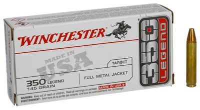 Winchester USA Target FMJ Centerfire Rifle Ammo