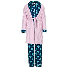 Bass Pro Shops Blue Plaid 3-Piece Pajama Set for Infants, Toddlers, or Kids