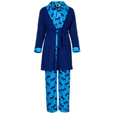 Bass Pro Shops Moose Print 3-Piece Pajama Set for Infants, Toddlers, or Kids