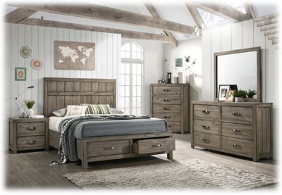 American Furniture Classics Cascade Bedroom Collection 6-Piece Bedroom Set