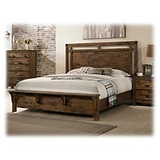 American Furniture Classics Ozark Bedroom Collection Bed Frame