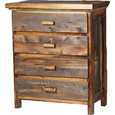 Mountain Woods Furniture Wyoming Collection Four-Drawer Chest