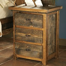 Mountain Woods Furniture Wyoming Collection 3-Drawer Nightstand