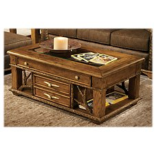 Marshfield Whitetail Ridge Furniture Collection Coffee Table