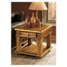 Marshfield Whitetail Ridge Furniture Collection Side Table