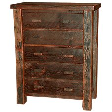 Old Hickory Furniture Old Timber Furniture Collection 5-Drawer Chest