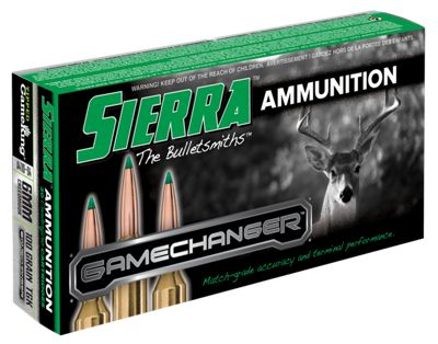 Sierra Game Changer Rifle Ammo – 100 Grain