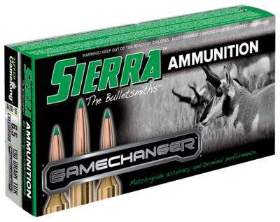 Sierra Game Changer Rifle Ammo – 130 Grain