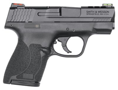 Smith & Wesson Performance Center Ported M&P Shield M2.0 Semi-Auto Pistol with Manual Safety – 9mm