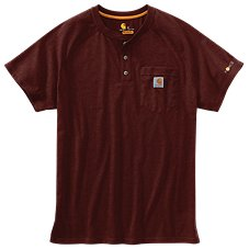 fdcd593a10 Carhartt Force Cotton Delmont Henley for Men