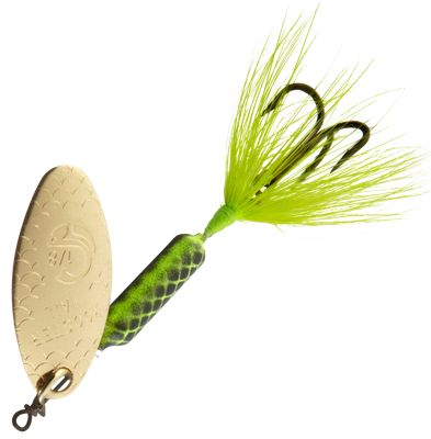 Worden's Original Rooster Tail – 1/8 oz. – Chartreuse