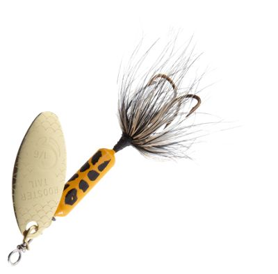 Worden's Original Rooster Tail – 1/6 oz. – Yellow Coach Dog
