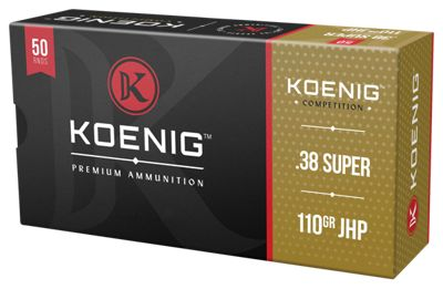 Koenig Competition Handgun Ammo thumbnail