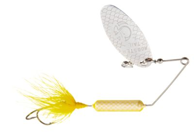Worden's Super Rooster Tail Spinnerbait – 1/4 oz. – Yellow