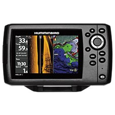 Humminbird HELIX 5 CHIRP SI GPS G2 Fish Finder and Chartplotter with Navionics+ Regions Electronic Marine Charts