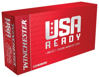 Winchester USA Ready Handgun Ammo