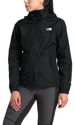 The North Face PR Resolve Jacket for Ladies - TNF Black/TNF White - S