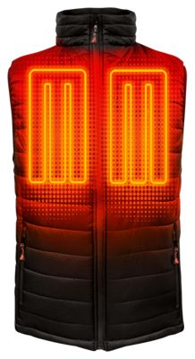 ActionHeat 5V Battery Heated Insulated Puffer Vest for Men - L thumbnail