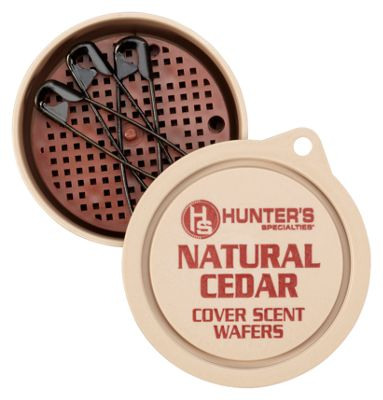 Hunter's Specialties H.S. Scents Primetime Cover Scent Wafers - Natural Cedar thumbnail