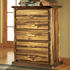 Mountain Woods Furniture Bronze Series Five-Drawer Chest