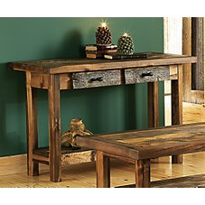Mountain Woods Furniture Wyoming Collection Sofa Table