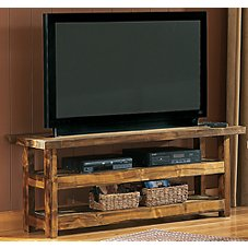 Mountain Woods Furniture Wyoming Collection TV Stand