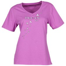 Life is Good Dream Doves Snuggle Up Short-Sleeve Sleep Tee for Ladies