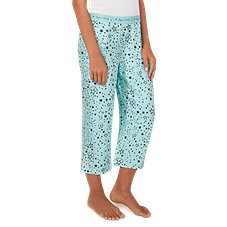 Life is Good Sleep Stars Cropped Sleep Pants for Ladies
