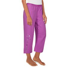 Life is Good Dream Doves Cropped Sleep Pants for Ladies