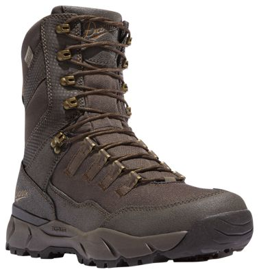 Vital Insulated Waterproof Hunting Boots for Men - Brown - 9M