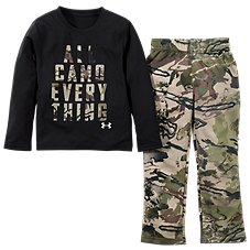 Under Armour All Camo Everything Long-Sleeve T-Shirt and Pants for Babies, Toddlers, and Kids