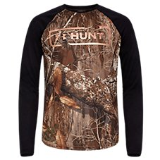 Under Armour Hunt Foil Logo Long-Sleeve Shirt for Kids