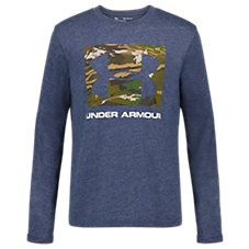 Under Armour Camo Fill Square Long-Sleeve T-Shirt for Kids