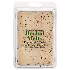 Swan Creek Candle Co. Herbal Melts Scented Melting Wax - Peppermint Twist