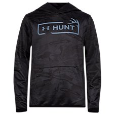 Under Armour Halftone Hunt Logo Hoodie for Kids Image