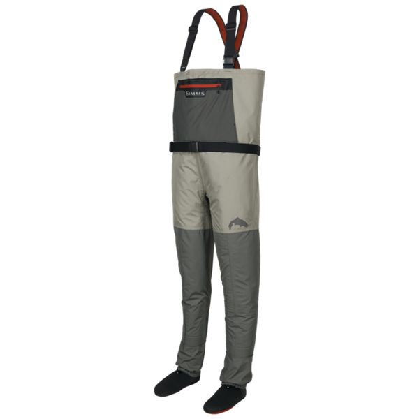 Simms Riffle Stockingfoot Waders for Men - Boulder - 2XLarge
