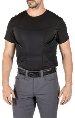 511 Tactical CAMS Base Layer Short Sleeve T Shirt for Men Black S