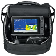 Garmin Panoptix ECHOMAP Plus 73cv Ice Fishing Bundle Image