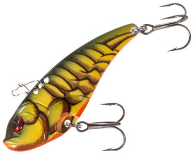 Cabela's Mean Eye Blade Bait – 1/4 oz. – Green Craw
