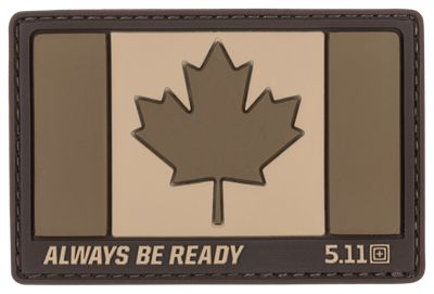 511 Tactical Canada Hat Patch Coyote