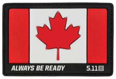 511 Tactical Canada Hat Patch Red