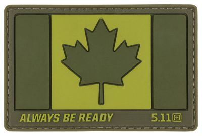 511 Tactical Canada Hat Patch