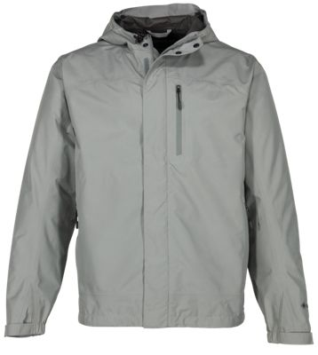 Cabela's Guidewear Rainy River Parka with GORE-TEX PacLite for Men - Monument Grey - M