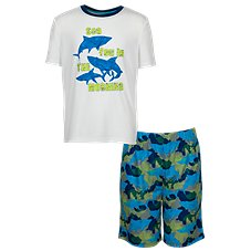 Bass Pro Shops Sea You in the Morning 2-Piece Pajama Set for Toddlers or Kids