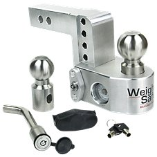 Weigh Safe Keyed-Alike Drop Hitch Image