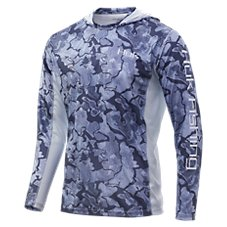 Huk Icon X Camo Long-Sleeve Hoodie for Men Image