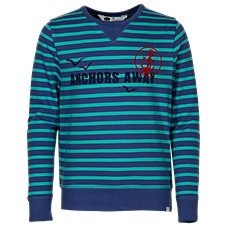 Bass Pro Shops Striped Terry Crew Long-Sleeve Shirt for Toddlers or Kids