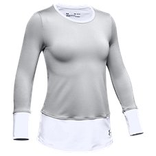 Under Armour ColdGear Long-Sleeve Crew Top for Girls