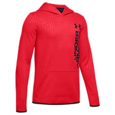 Under Armour Armour Fleece Embossed Long-Sleeve Hoodie for Kids Image